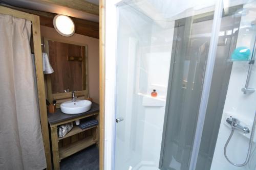 Belle salle de douche
