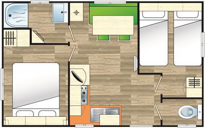 Plan mobil home